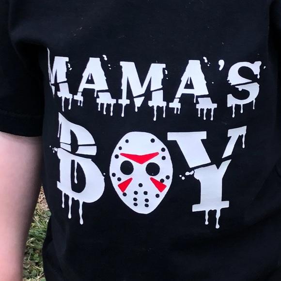 Toddler Birthday Boy Voorhees Fan Friday Horror Movie Graphic Tee T-Shirt